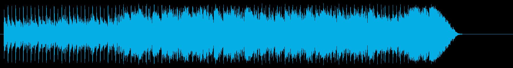 充実感を感じる清涼ポップ(イントロ~…)の再生済みの波形