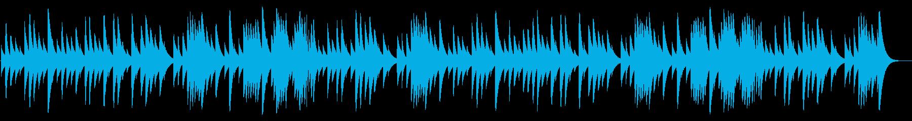 ショパンのノクターン 18弁オルゴールの再生済みの波形