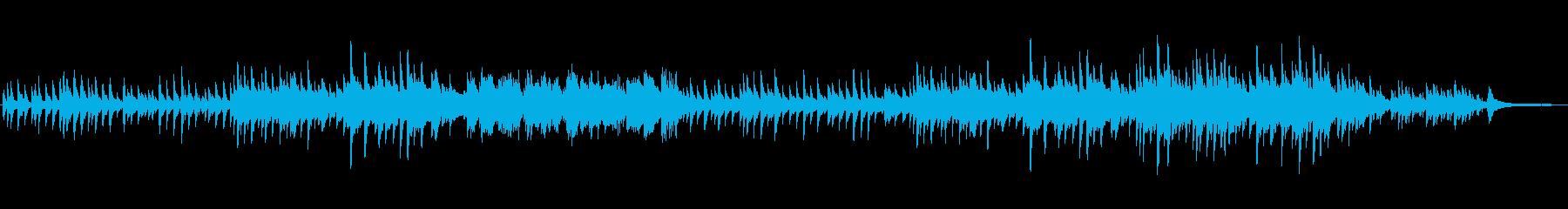 感動的で切ないピアノソロの再生済みの波形