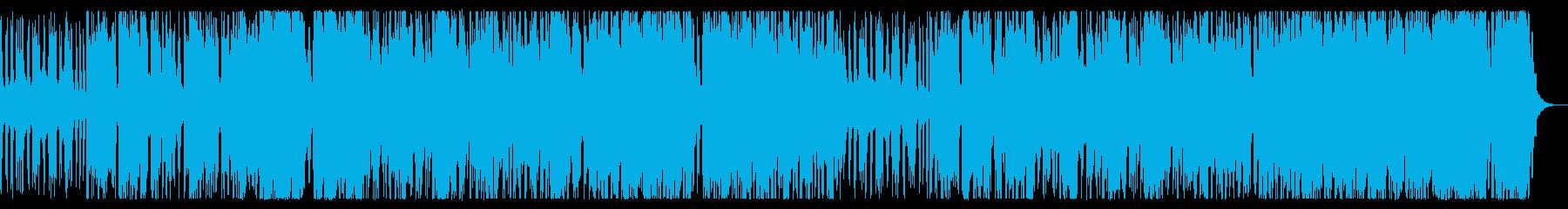 ミステリアスな戦闘向けチップチューンの再生済みの波形