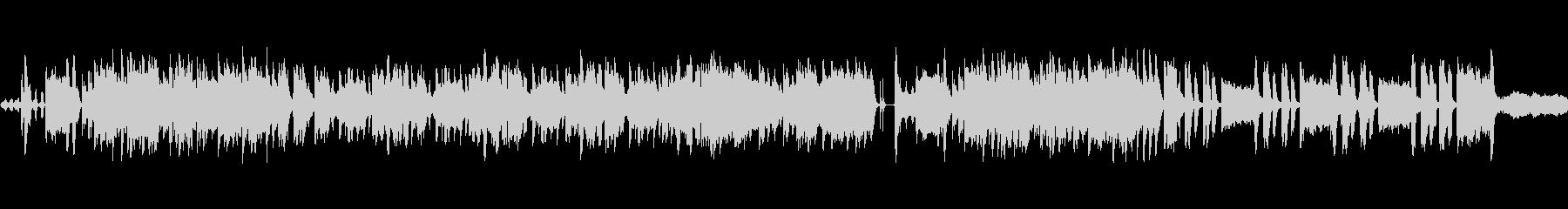 和風、琴 笛のオーケストラループ楽曲の未再生の波形