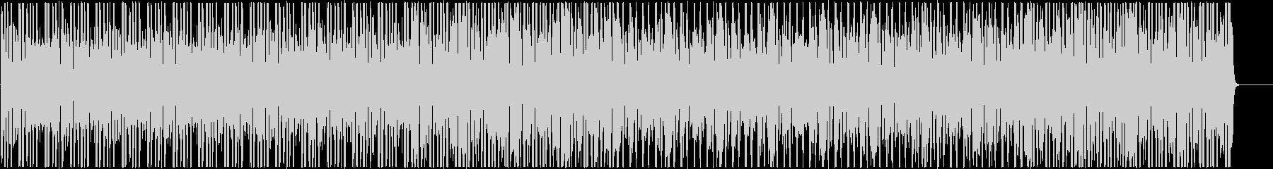 コミカルで日常的なローファイヒップホップの未再生の波形