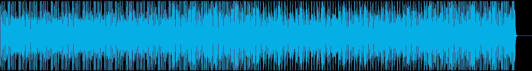 コミカルで日常的なローファイヒップホップの再生済みの波形