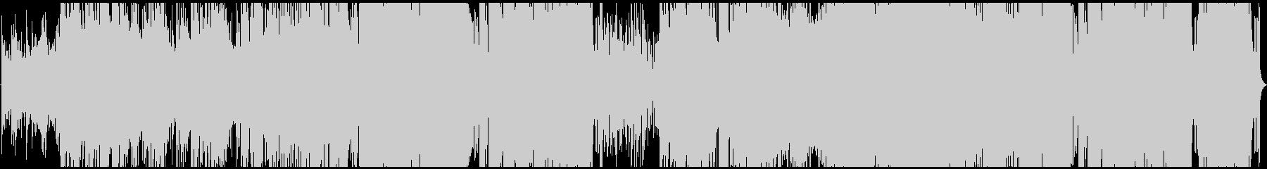 勢いのある電子音楽です。の未再生の波形