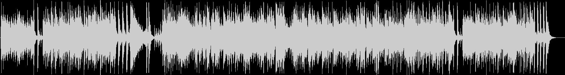 コミカルなインフォメーションミュージックの未再生の波形