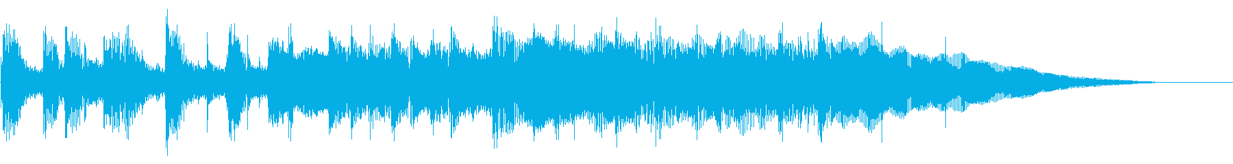 猫 犬 赤ちゃん ほのぼの とした場面にの再生済みの波形