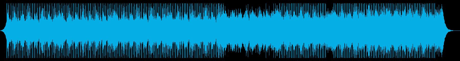 説明者の音楽の再生済みの波形