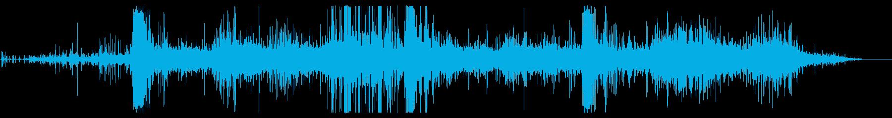 ロックスライド:ミディアムの再生済みの波形