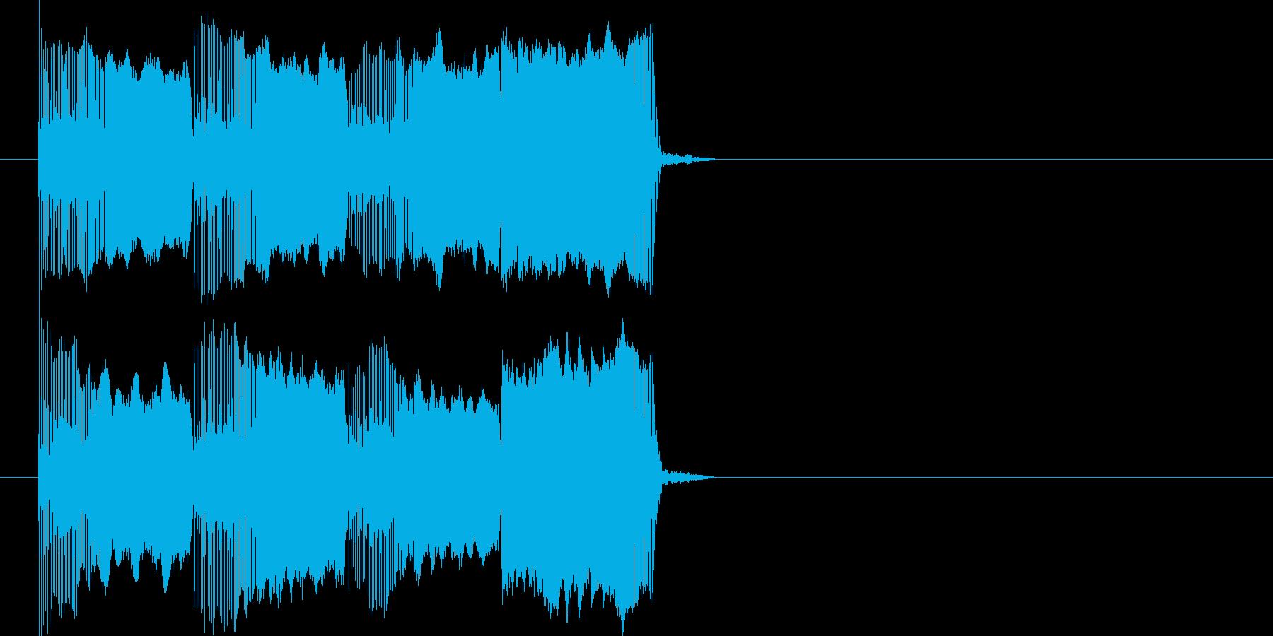 ぴゅーぴゅーぴゅーパー(宇宙船サイレン)の再生済みの波形
