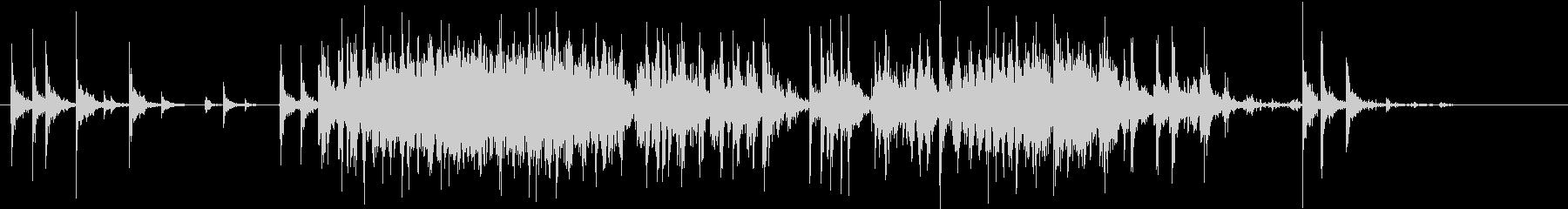 【生録音】米粒(生米)を取り出す音 4の未再生の波形