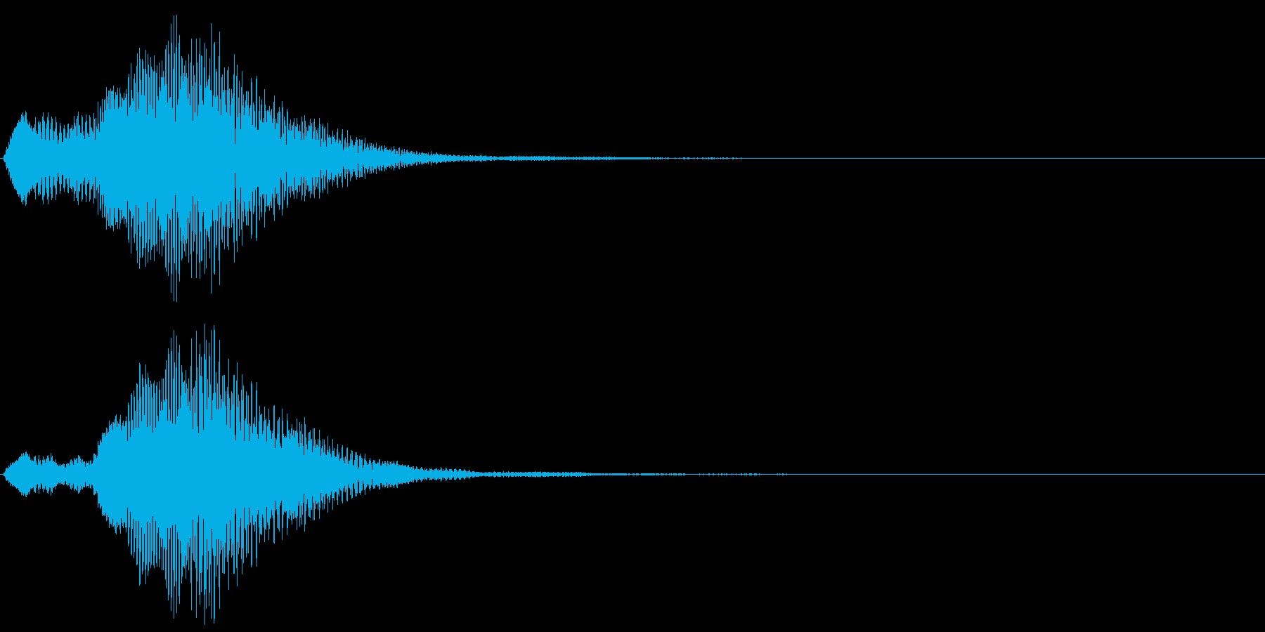 キラキラ駆け上がる音_場面転換の定番の再生済みの波形