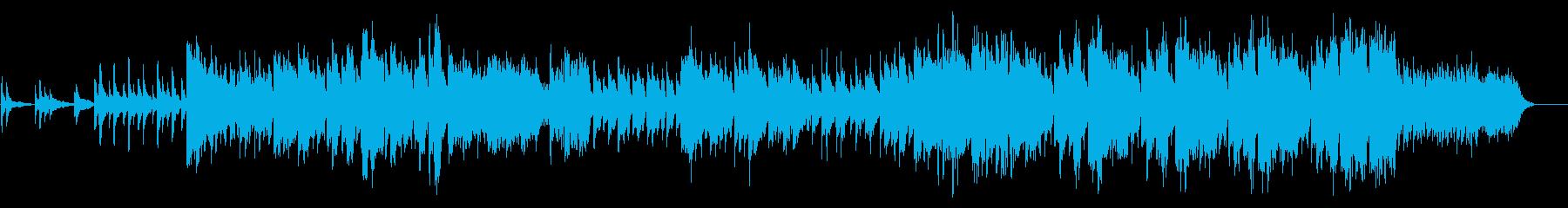 異国情緒ある民族系の曲の再生済みの波形
