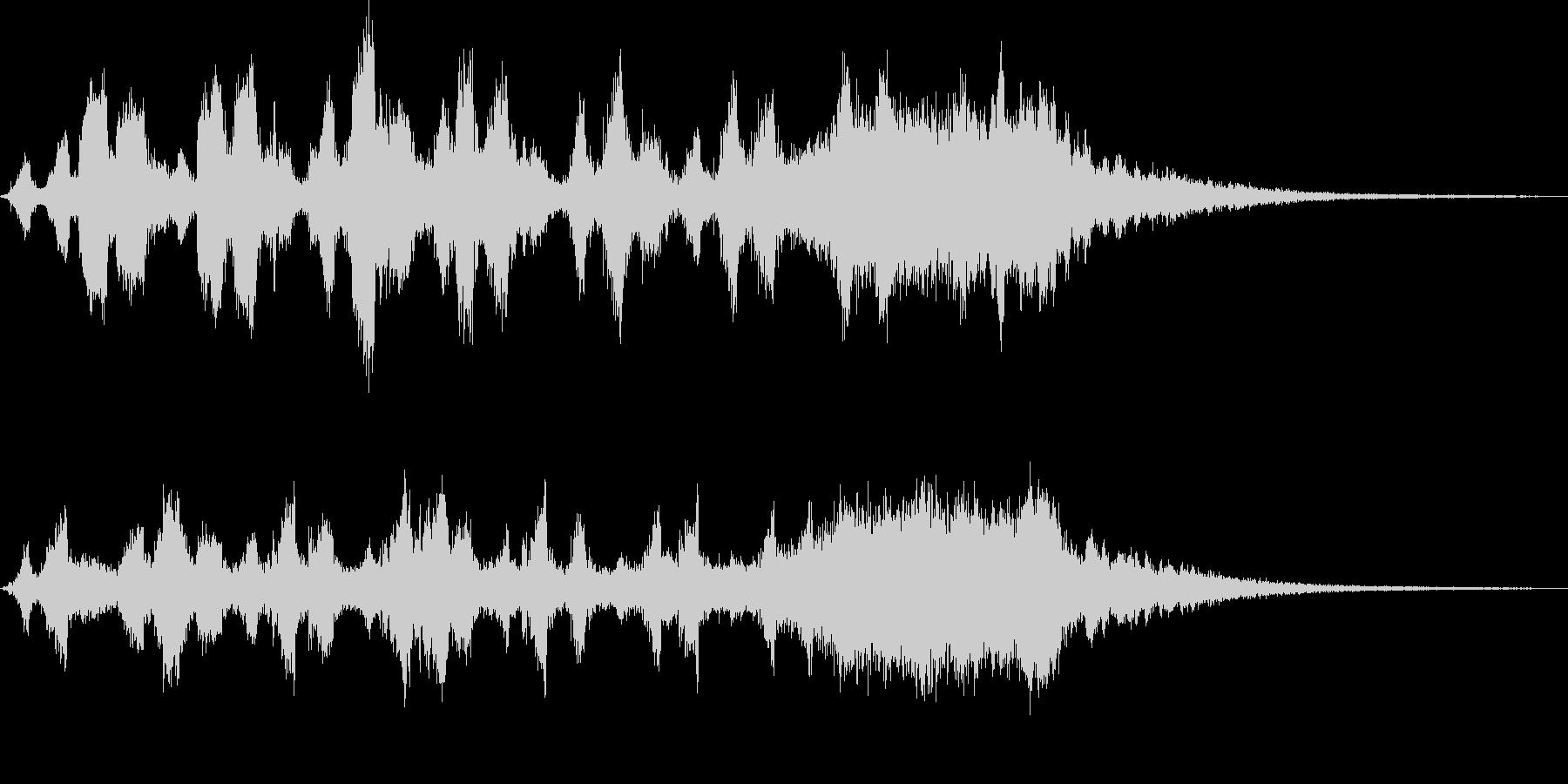 CINEMATIC RISER_09の未再生の波形