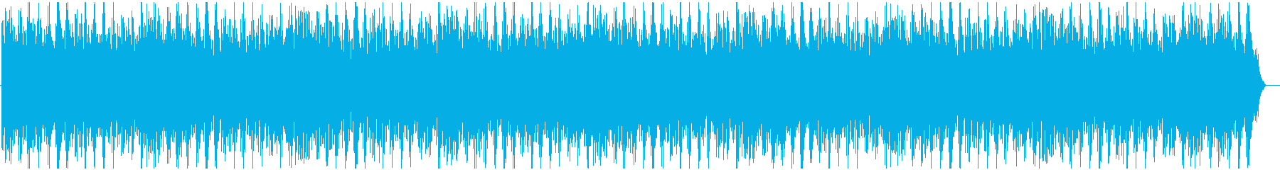 悲しい雰囲気のあるピアノメロディーの再生済みの波形