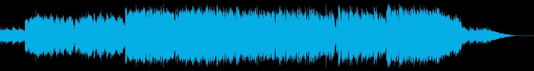 ドキュメンタリーに合う幻想的なケルト曲の再生済みの波形