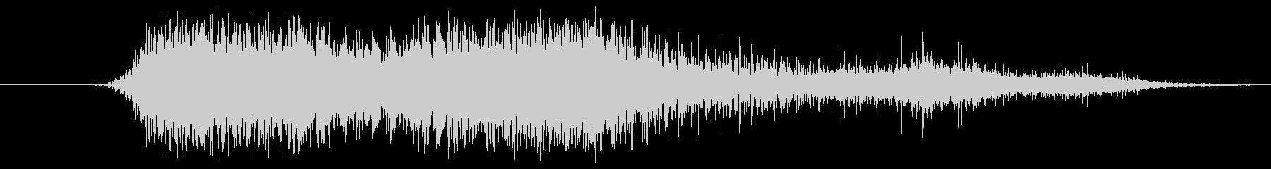 Raspy Growl 6の未再生の波形