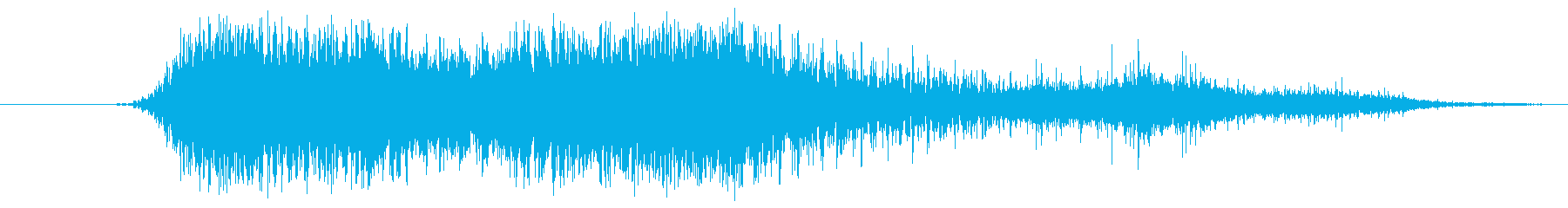 Raspy Growl 6の再生済みの波形