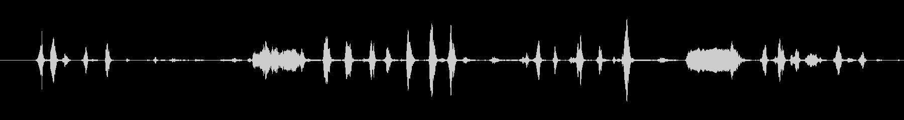 鶏 マルチカックルアップセット01の未再生の波形