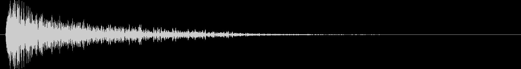 ロゴインパクトバンの未再生の波形