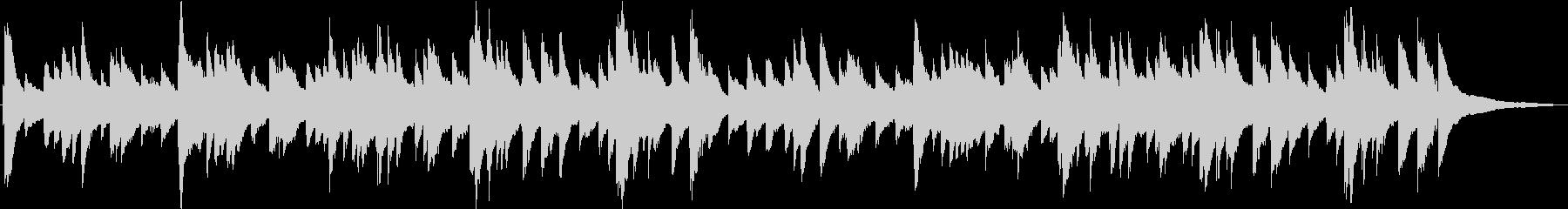 (生演奏)優しい雰囲気のピアノ曲の未再生の波形