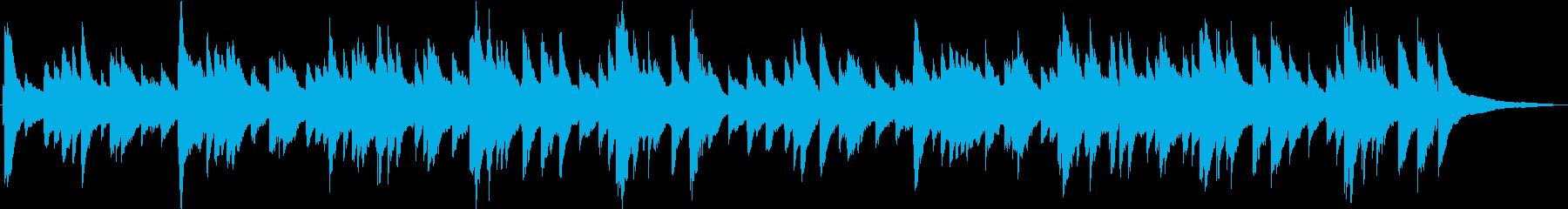 (生演奏)優しい雰囲気のピアノ曲の再生済みの波形