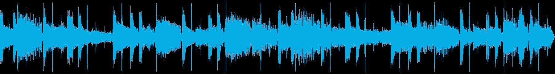 サイバーテクノロジーを意識したループ仕様の再生済みの波形