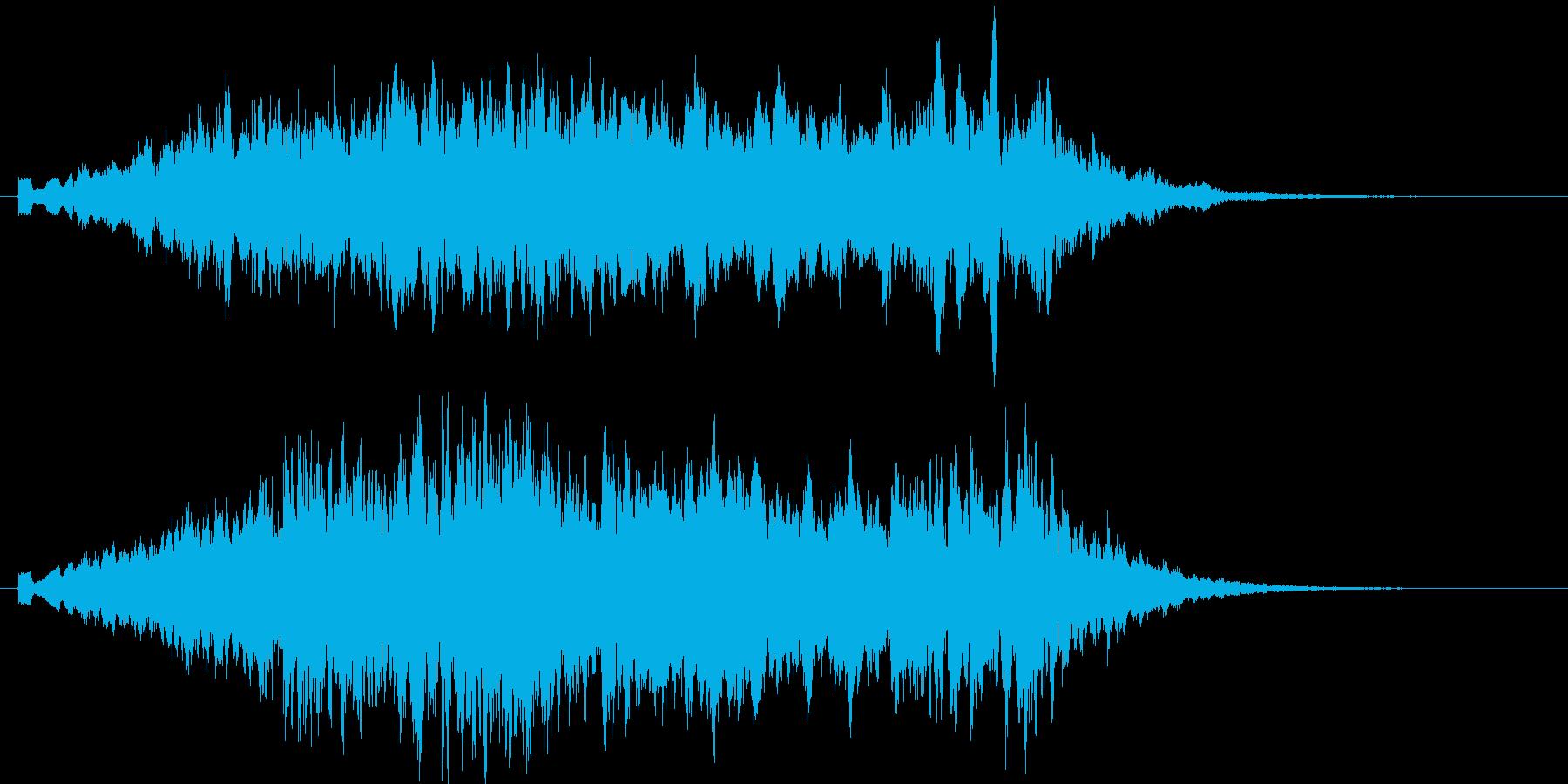 神秘の空間の再生済みの波形