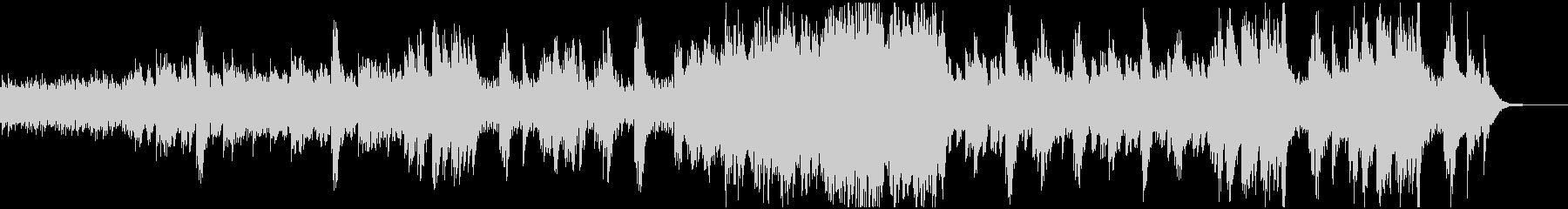 ピアノが幻想的なSF系BGMの未再生の波形