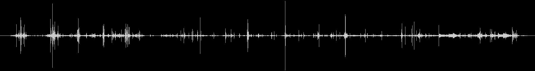 段ボールバンカーボックス:ファイル...の未再生の波形
