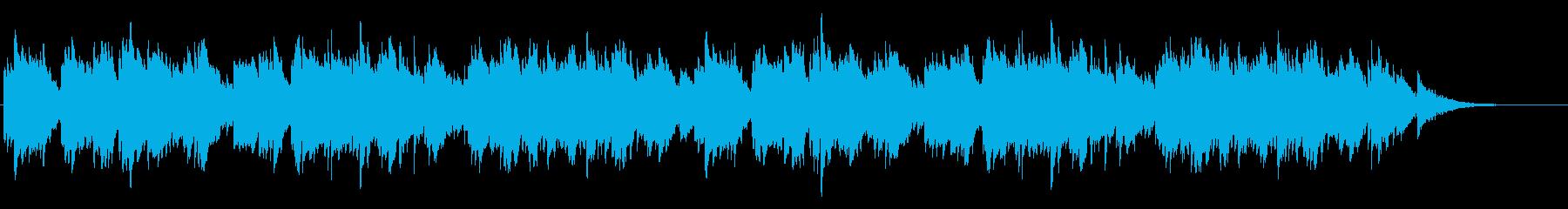 ピアノとオルゴール 優しいの再生済みの波形