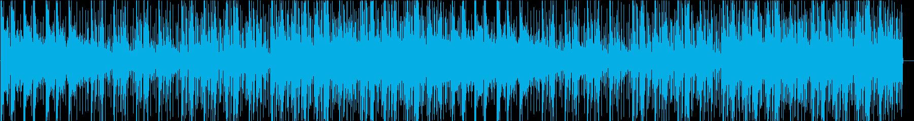 楽しいテンポ感のあるポップスの再生済みの波形