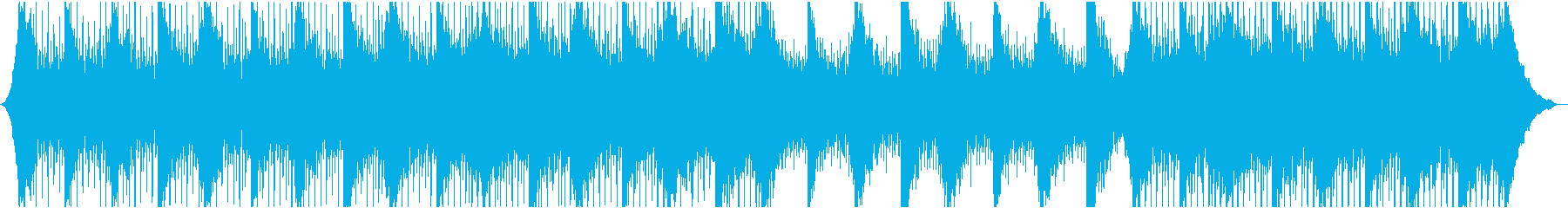 Modern technology background's reproduced waveform