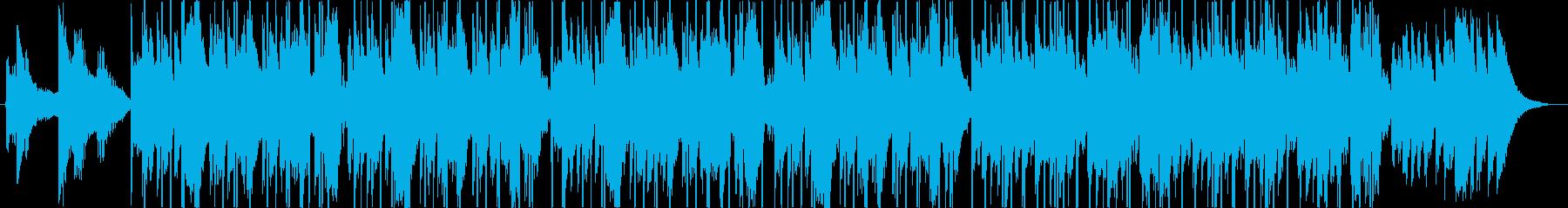 メロウなヒップホップ 洋楽 チルアウトの再生済みの波形