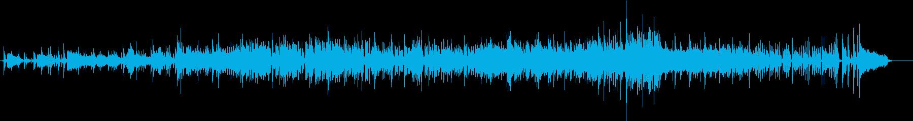 おしゃれ系ボサノバです。の再生済みの波形