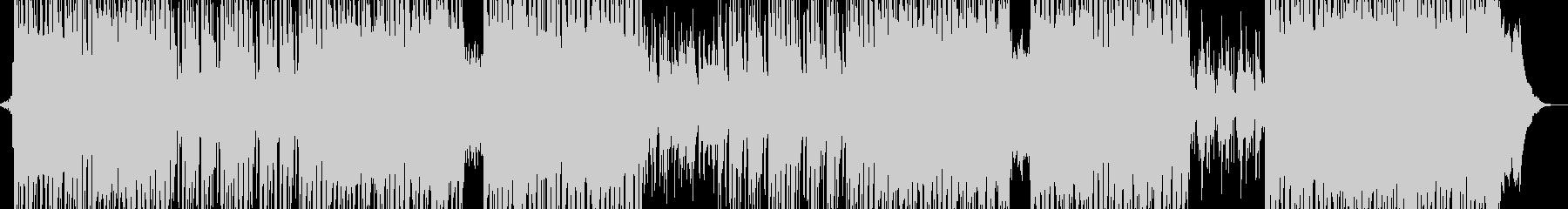 スリラーシンセ・疾走ビート ギター有の未再生の波形