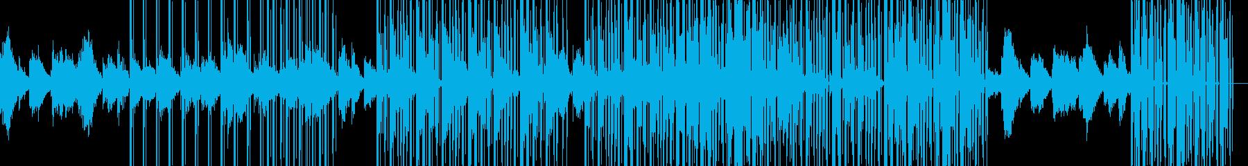 涼しげで有機的なアンビエントの再生済みの波形