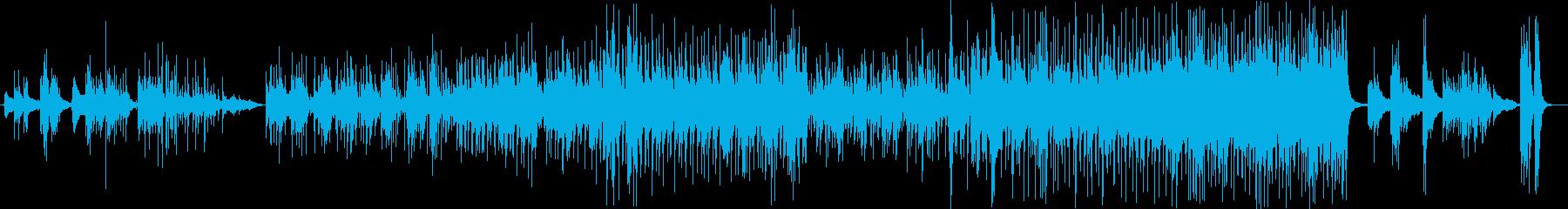 ラテン。スペイン語。ジプシーキングス。の再生済みの波形