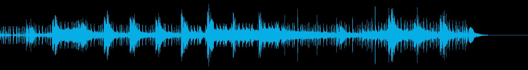 サスペンス推理ドラマ風chillbeatの再生済みの波形