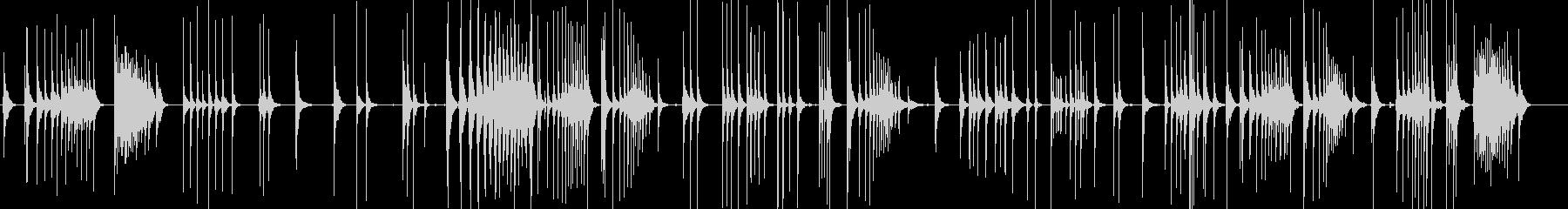 三味線140鞍馬山1稚児遮那王剣術修行御の未再生の波形