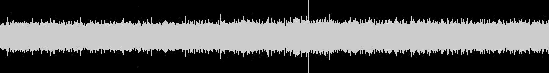 シャワーの音 ループ再生の未再生の波形