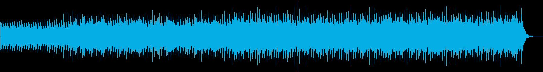 エレクトロニカグルーヴを水っぽい効...の再生済みの波形