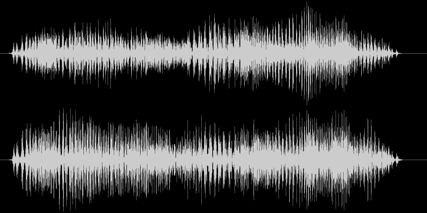 チャック、ジッパー(開閉音) ジィゥゥッの未再生の波形
