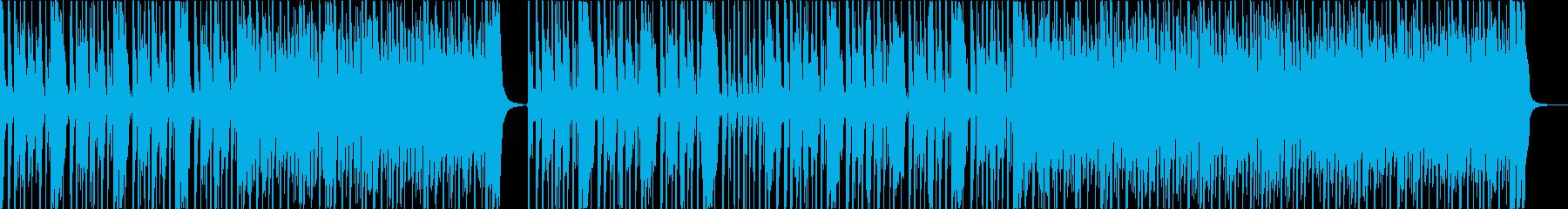 ドラムとピアノが織りなす軽快なジャズの再生済みの波形