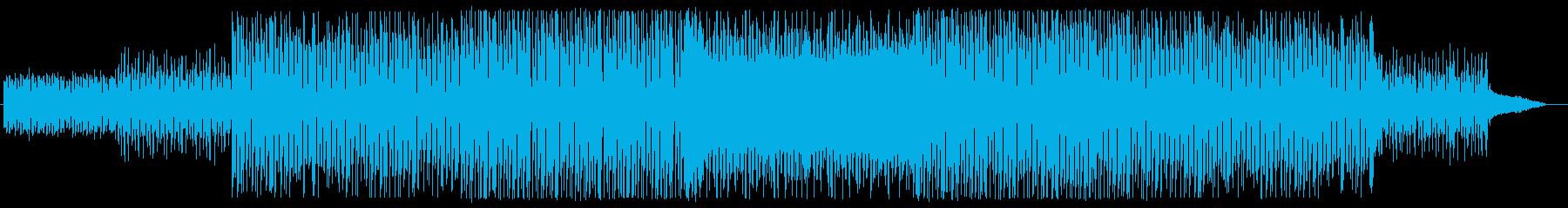 浮遊感のあるインストの再生済みの波形