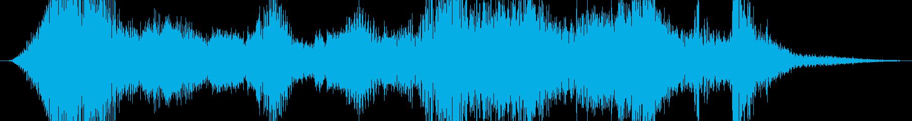 ポップ テクノ 実験的な モダン ...の再生済みの波形