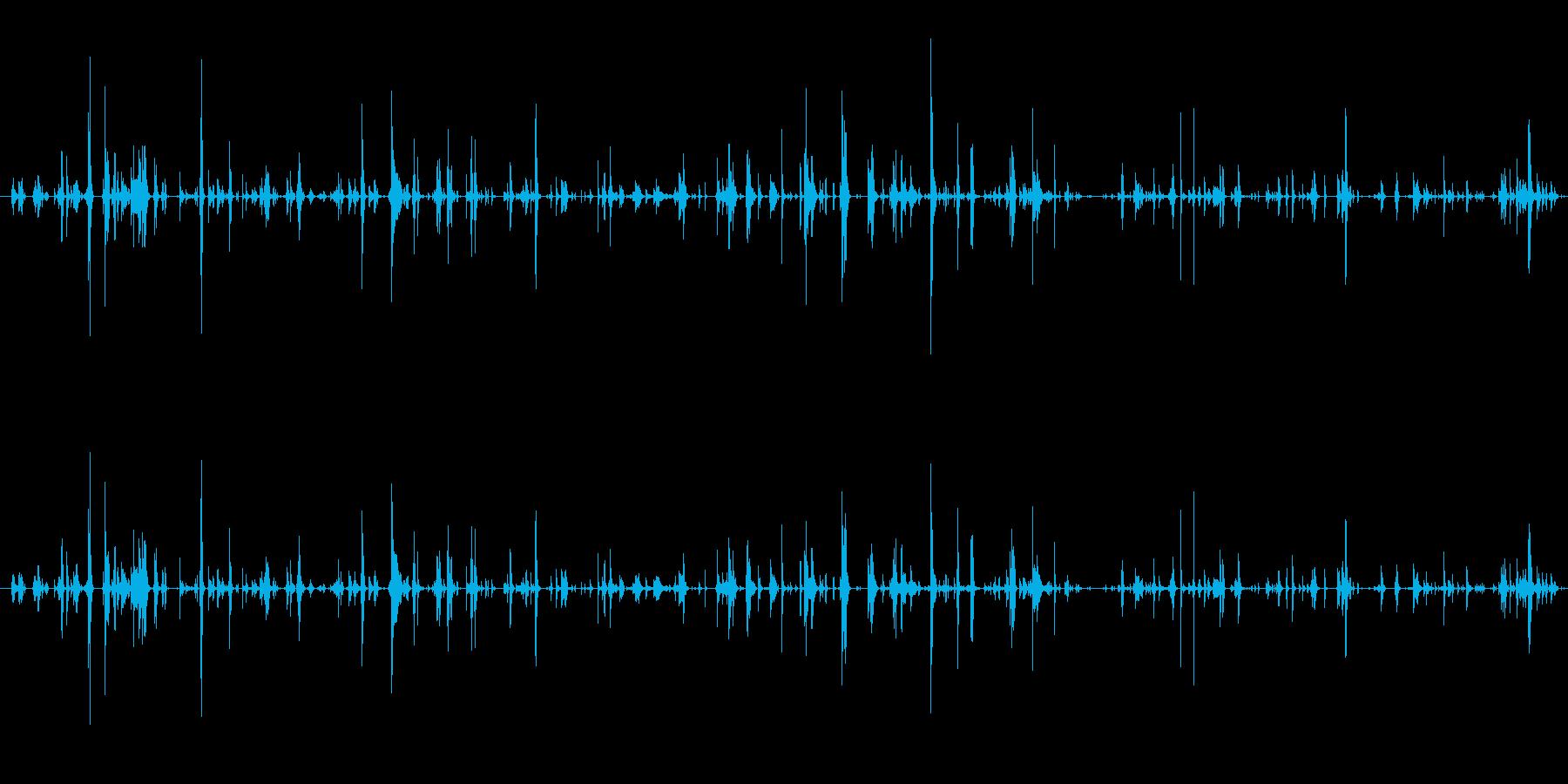キー キーホルダースモールラトルシ...の再生済みの波形