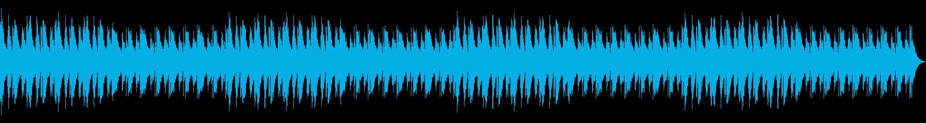 ドラムとベースなしの再生済みの波形
