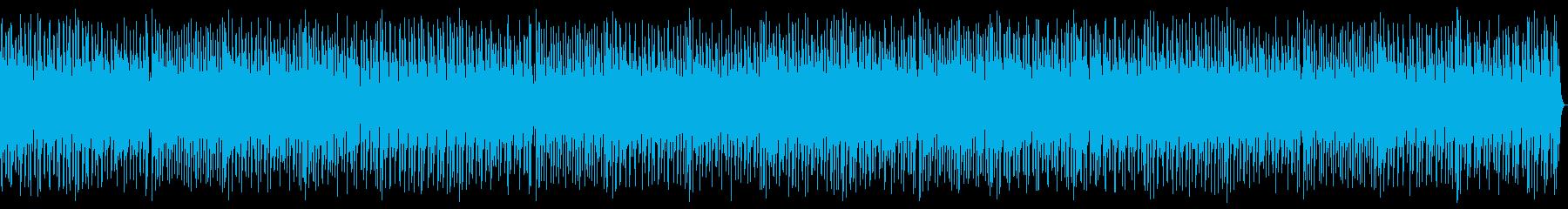ピアノ、アコーディオン、スタンドア...の再生済みの波形