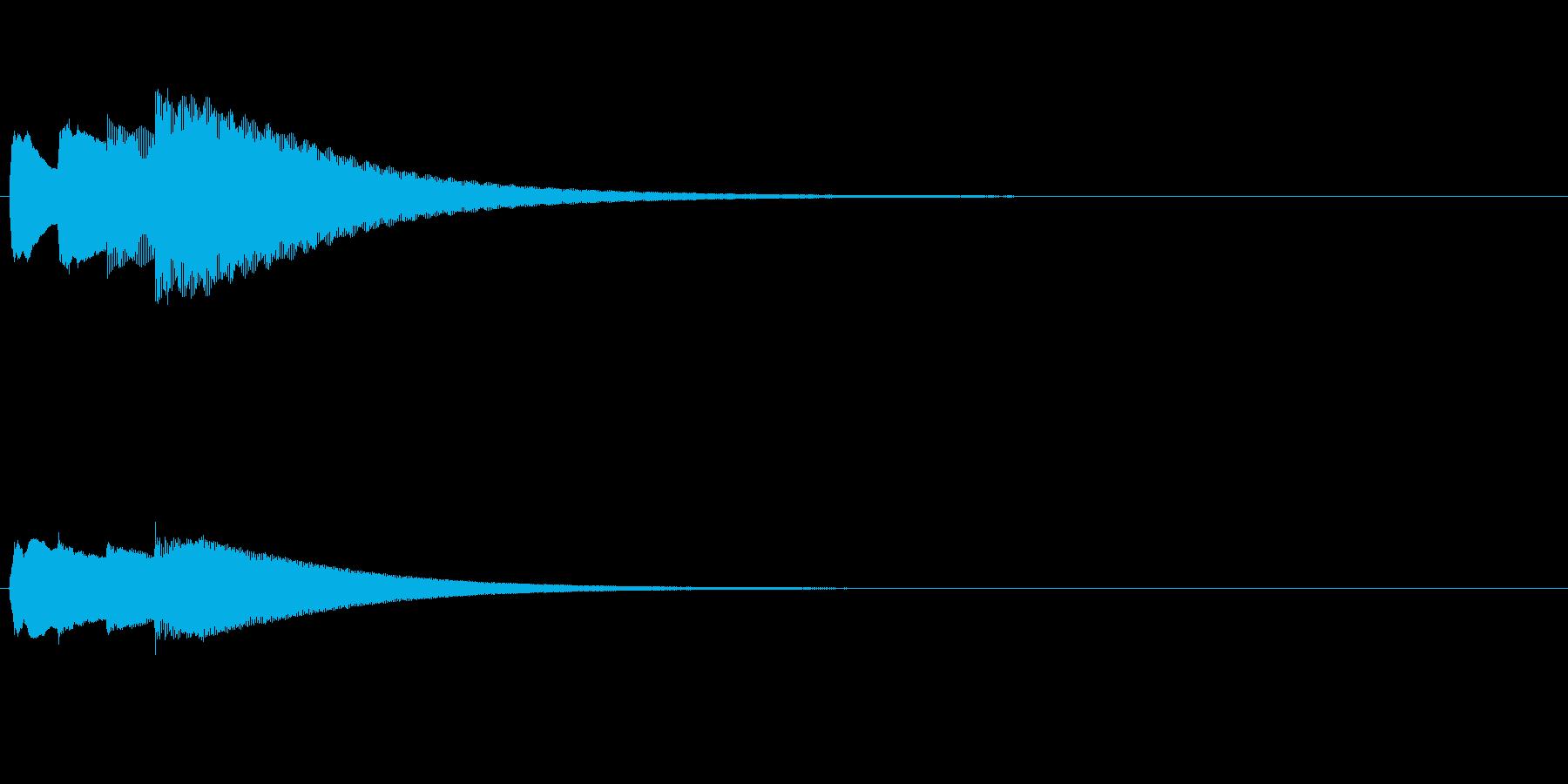 (チェレスタ)キラキラーンという綺麗な…の再生済みの波形