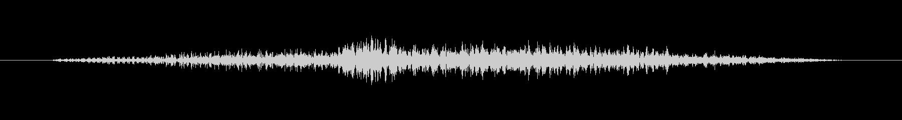 ゾンビ うめき声アイドルスロート02の未再生の波形